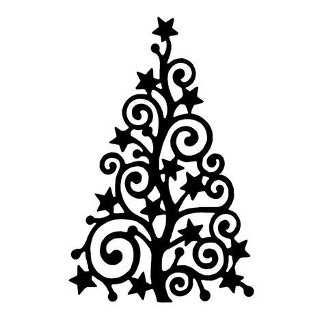 crafty individuals ci 368 starry christmas tree art