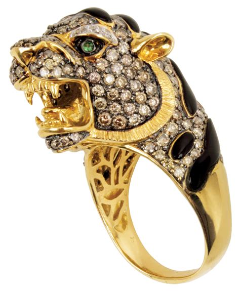 Lot Detail   Elvis Presley Owned and Worn ?Mr. Tiger? Karate Diamond Ring