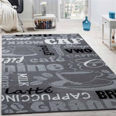 moderne teppich läufer designer teppich kaffee typografie design trendig modern