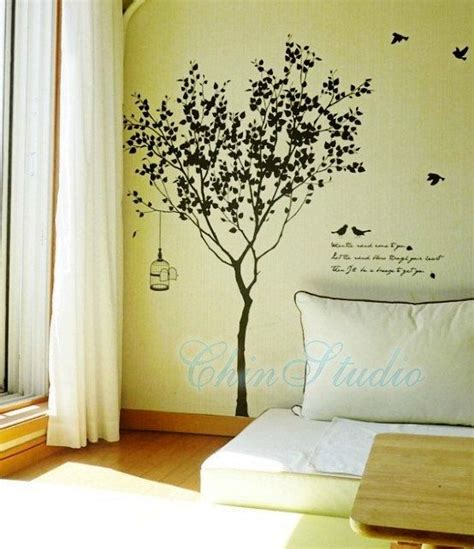 Tree Wall Decals For Nursery Etsy Pinterest The World S Catalog Of Ideas