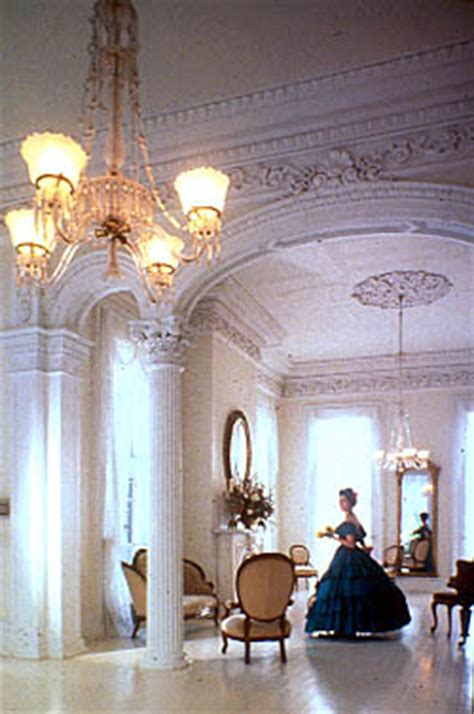 the white ballroom in the nottoway plantation mansion on these walls of white nottoway plantation
