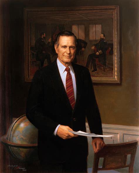 the 41st us president george h w bush portraits george h w bush mowryjournal com