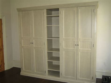 custom bedroom wardrobes astounding custom carpenter made 4 doors built in wardrobe
