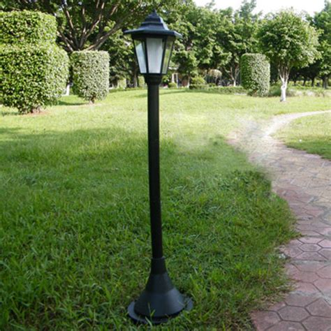 solar powered yard light popular outdoor standing l buy cheap outdoor standing
