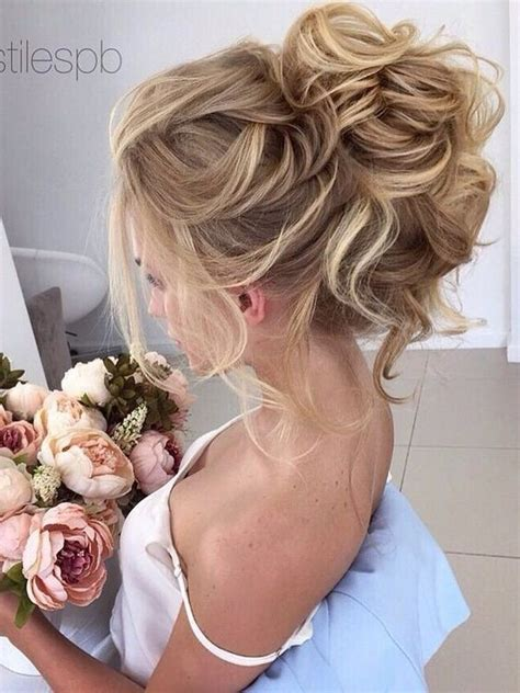 curly hairstyles pinned up pinned high curly updo hair styles for bridal love and