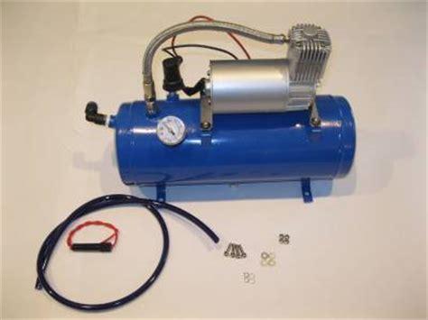 120psi 12v air compressor 1 5 gallon tank for air horns bag system truck ebay