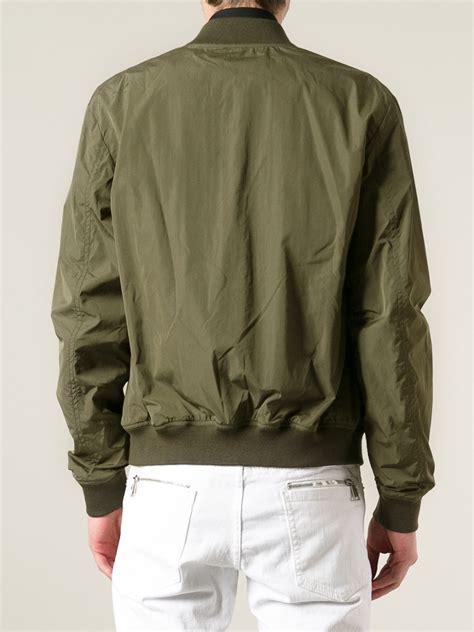Jaket Bomber Rocafela 2 In 1 dsquared 178 bomber jacket in green for lyst