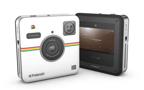 Kamera Instan Polaroid Second ces 2014 polaroid socialmatic brings back instant