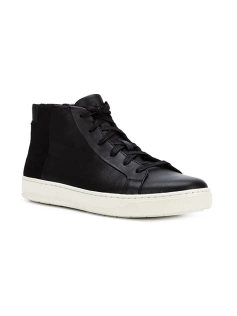 vince mens sneakers vince atlas sneakers in black for lyst