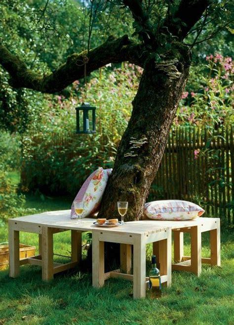 bench around a tree design 25 amazing diy outdoor bench for your garden home design