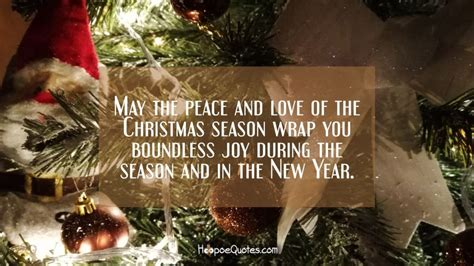 peace  love   christmas season wrap  boundless joy   season