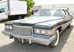 76 Cadillac Fleetwood Purchase Used Classic 1976 Cadillac Fleetwood 8 Passenger