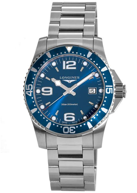 longines  hydroconquest quartz mens