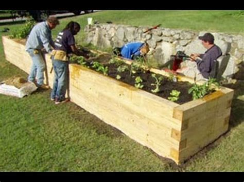 Tiny Homes Designs by How To Plant A Raised Garden Bed This Old House Youtube
