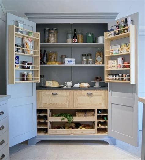 Larders And Pantries by Larder Cupboard On 1960s Kitchen Hoosier Cabinet And Retro Kitchens