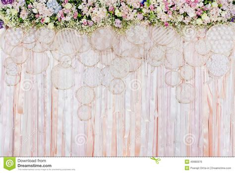 Wedding Backdrop Vector Free by Beautiful Flowers Background For Wedding Stock Photo
