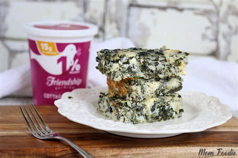 How Much Carbs In Cottage Cheese by Low Carb Spanakopita Cottage Cheese And Egg Casserole