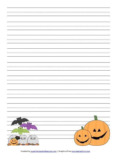 printable autumn writing paper 7 best images of free printable fall handwriting paper