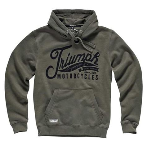Hoodie Triumph Motorcycles Lp triumph custom hoodie for triumph motorcycles the triumph custom hoodie made from heavy