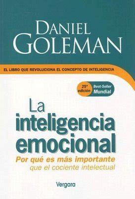 libro bienestar emocional superar el rese 241 a de libros inteligencia emocional de daniel goleman granvalparaiso