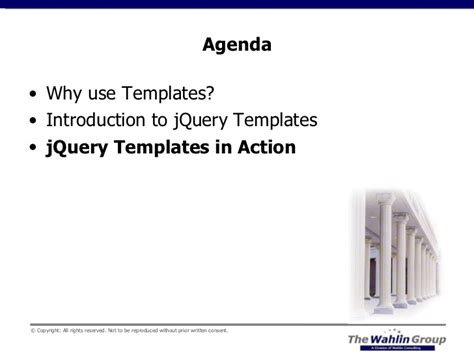 using jquery templates