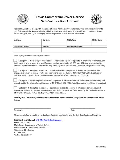 self certification template self certificate form 5 free templates in pdf word