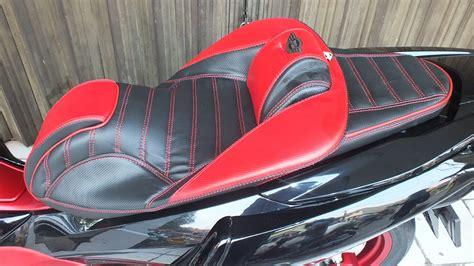 Jok Somjin Vp 4 Honda All New Pcx 150 Led modifikasi jok motor jok honda pcx all new model king