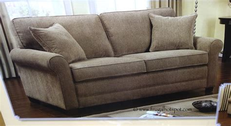 chenille sleeper sofa costco chenille fabric sofa with queen sleeper 649 99
