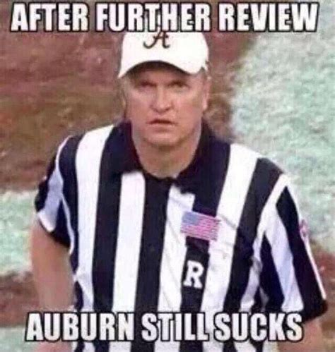 Alabama Auburn Memes - 138 best football jokes images on pinterest football