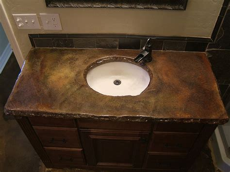 small bathroom countertop ideas outstanding concrete bathroom countertops design ideas