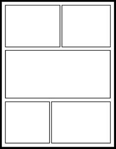 Graphic Novel Template by Templates On Comic Comic Book Pages And Graphic
