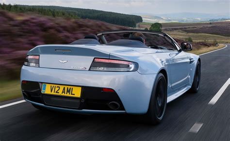 Aston Martin Roadster by Aston Martin V12 Vantage S Roadster 2014 Road Test