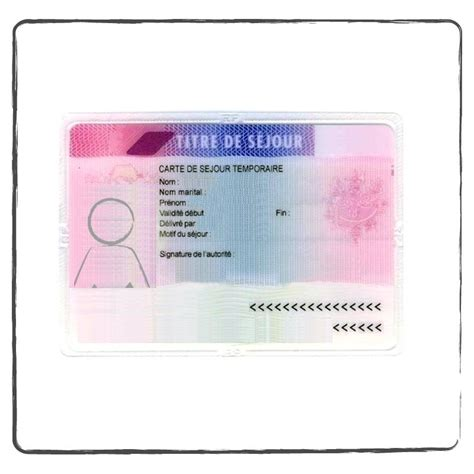 traduction assermentee carte de sejour pour visa acs