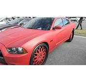 WhipPaparazzi Matte Red Dodge Charger On Forgiatos  YouTube