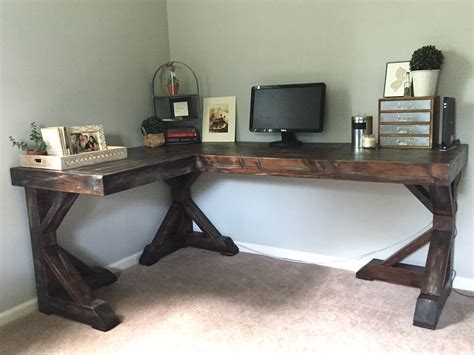 Make Your Own Corner Desk Diy Corner Desk Home Happiness