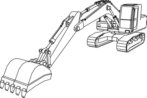 coloring pictures of excavator 4 wheeler coloring pages coloring page excavator