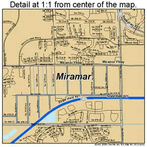 Miramar Florida Map miramar florida street map 1245975