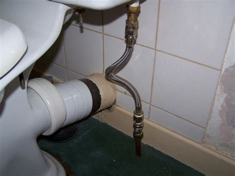 move toilet sideways cast iron soil pipe plumbing