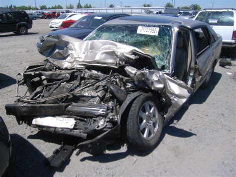 Wrecked Toyota Avalon #car #accident   Vehicles in