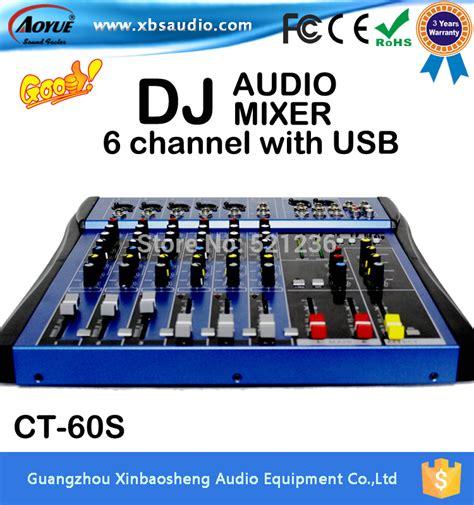 Mixer Bowel Ct 60 S Usb 6 Channel usb dj mixer beli murah usb dj mixer lots from china usb