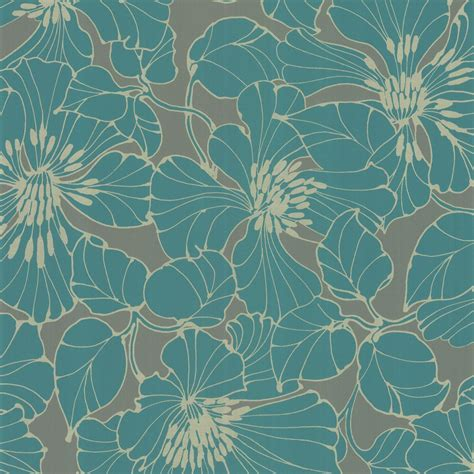 grey wallpaper harlequin passion wallpaper turquoise grey silver 30734