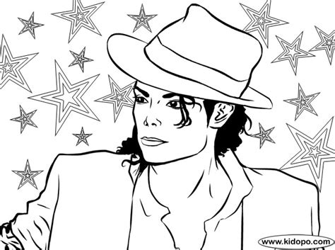Michael Jackson Coloring Pages To Print michael jackson coloring page