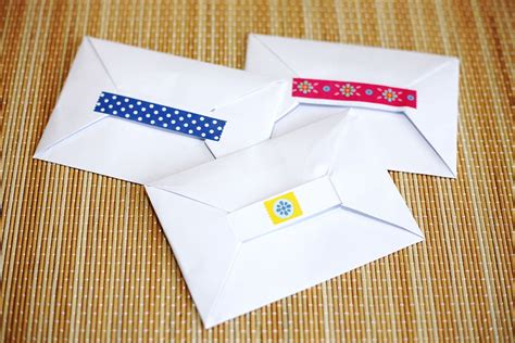 Fold Envelope From Paper - how to fold a paper envelope origami ว ธ พ บซองจดหมาย