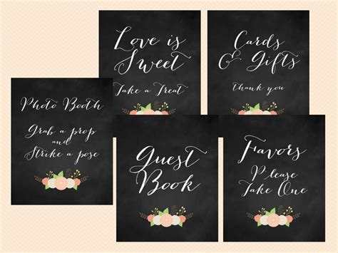 printable bridal shower signs chalkboard modern wedding bridal shower sign magical