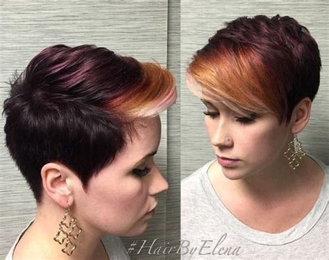 pixie haircut ombre 20 adorable short hairstyles for girls popular haircuts