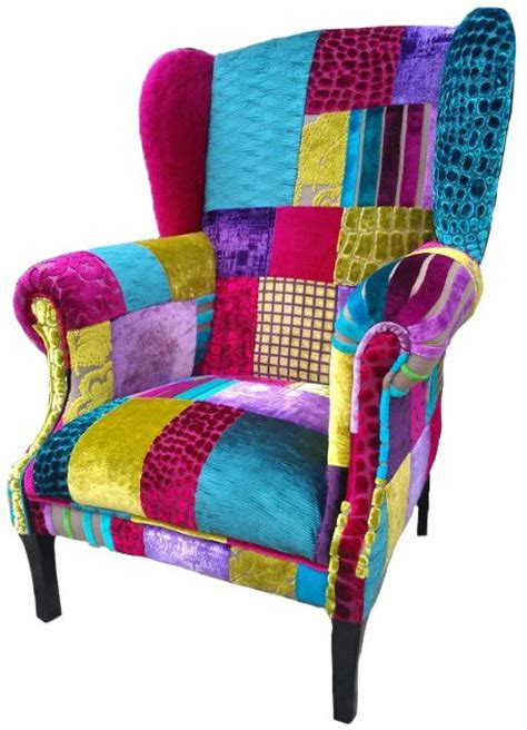 Patchwork Chairs - patchwork chair designed by co uk sofa