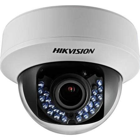hikvision hd720p turbo hd indoor varifocal ir dome with 2 8 12mm lens ds 2ce56c5t avfir
