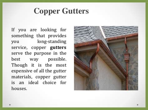 looking for something to clean gutters 5 types of gutters to choose for your home