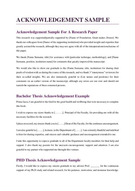 phd thesis acknowledgement template phd thesis acknowledgement template image collections