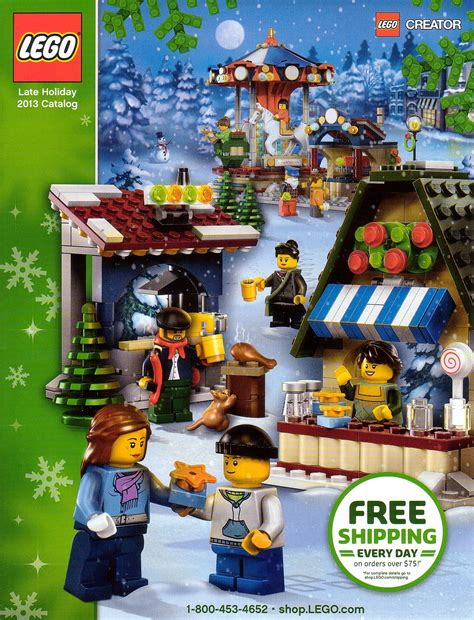 lego holiday catalog 2013